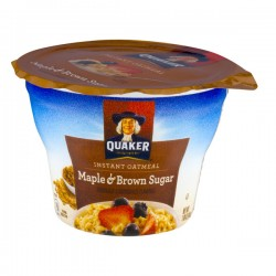 Quaker Instant Oatmeal Maple & Brown Sugar
