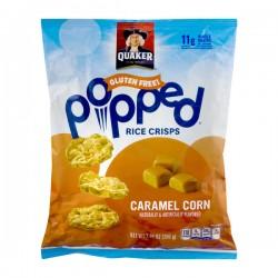 Quaker Gluten Free Popped Rice Crisps Caramel Corn