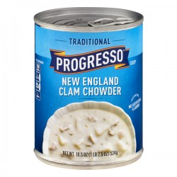Progresso™ Gluten Free Traditional New England Clam Chowder Soup 18.5 oz Can