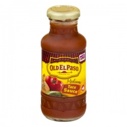 Old El Paso™ Medium Taco Sauce 8 oz Jar