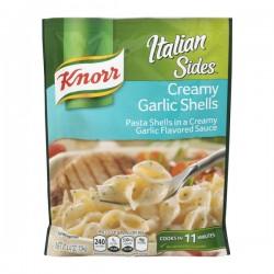Knorr Italian Sides Pasta Shells Creamy Garlic Shells