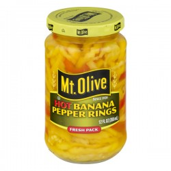 Mt. Olive Banana Pepper Rings Hot