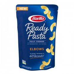 Barilla Ready Pasta Fully Cooked Elbows