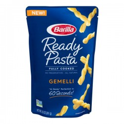 Barilla Ready Pasta Fully Cooked Gemelli