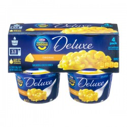 Kraft Macaroni & Cheese Deluxe Original - 4 PK