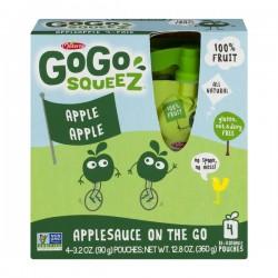 GoGo Squeez Applesauce On The Go Apple Apple - 4 CT