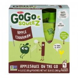 GoGo Squeez Applesauce On The Go Apple Cinnamon - 4 CT