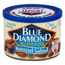 Blue Diamond Almonds Roasted Salted