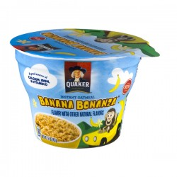 Quaker Instant Oatmeal Banana Bonanza