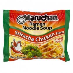 Maruchan Ramen Noodle Soup Sriracha Chicken Flavor