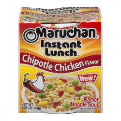 Maruchan Instant Lunch Ramen Noodle Soup Chipotle Chicken