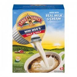 Land O'Lakes Mini Moo's Half & Half Single Serve Dairy Creamers - 24 CT