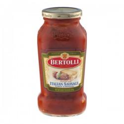 Bertolli Italian Sausage Garlic & Romano Sauce