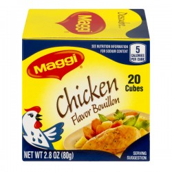 Maggi Bouillon Cubes Chicken Flavor - 20 CT