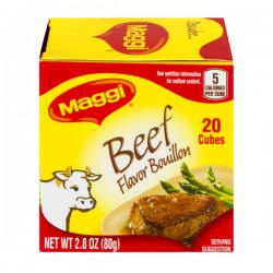 Maggi Bouillon Cubes Beef Flavor - 20 CT
