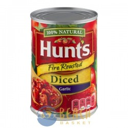 Hunt's Tomatoes 100% Natural Fire Roasted Diced Garlic