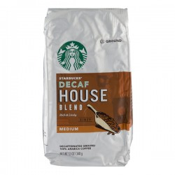 Starbucks Decaf House Blend Medium Ground Coffee