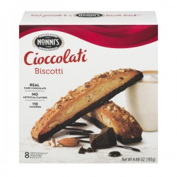 Nonni's Biscotti Cioccolati - 8 CT