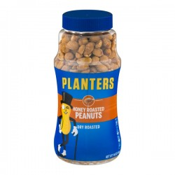 Planters Dry Roasted Honey Roasted Peanuts