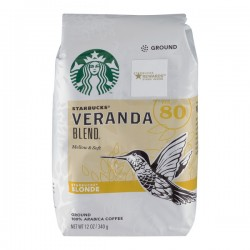 Starbucks Ground 100% Arabica Coffee Veranda Blend Blonde