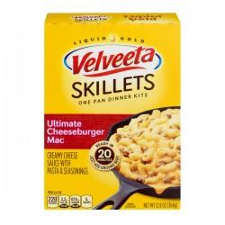 Velveeta Skillets One Pan Dinner Kits Ultimate Cheeseburger Mac