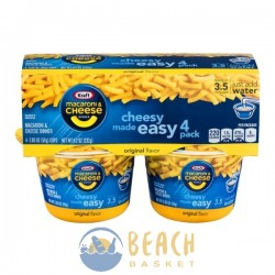Kraft Macaroni & Cheese Dinner Cups Original Flavor - 4 CT