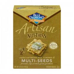 Blue Diamond Almonds Artisan Nut-Thins Multi-Seeds